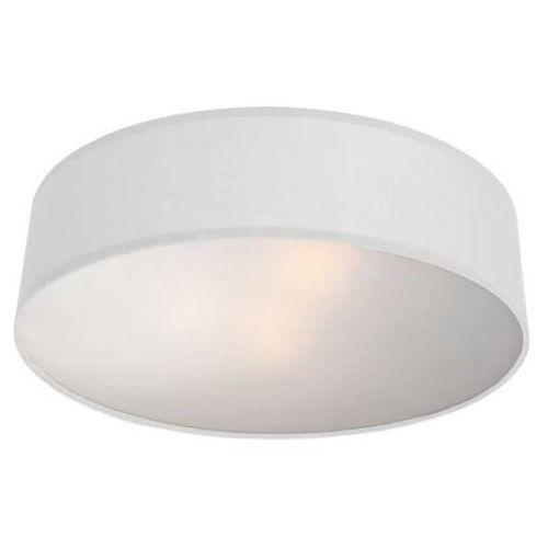 Abażurowa LAMPA sufitowa ALTO LP-81008/3C WH Light Prestige VIVIANE plafon OPRAWA okrągła biała, LP-81008/3C WH