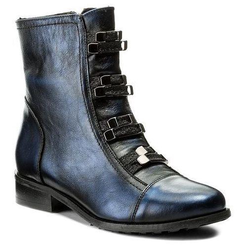 Botki - 67-4757-f63-1g czarny/niebieski marki Eksbut