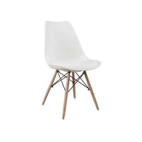 Krzesło Eteo DSW white z poduszką, XRB-053-A WH