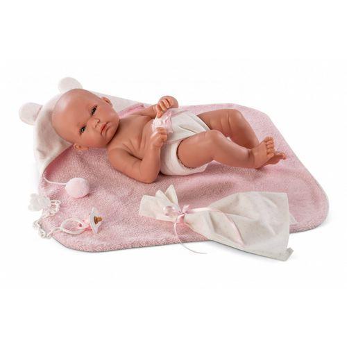 Llorens Lalka bimba w różowym szlafroku 35 cm