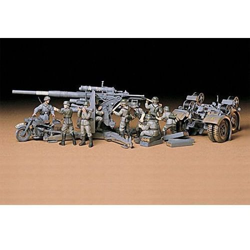 Tamiya german 88mm gun flak 36.37 (4950344995387)