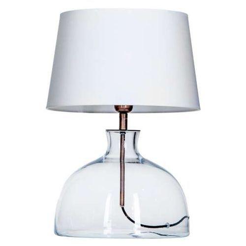 Lampa oprawa stołowa haga 1x60w e27 biały l212180217 marki 4concepts