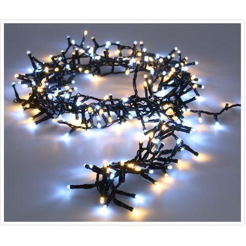Świąteczny łańcuch świetlny Twinkle zimny i ciepły białym 700 LED, 689652