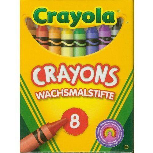 , core, kredki świecowe, 8 szt. marki Crayola