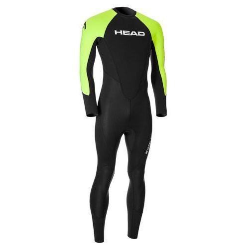 Head expl**** 3.2.2 mężczyźni zielony/czarny m 2018 pianki do pływania (0792460260833)