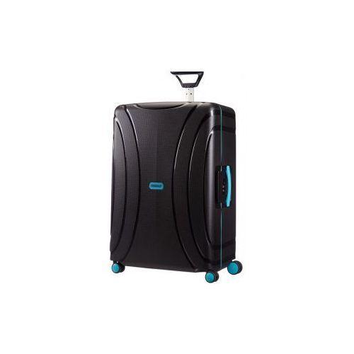 American tourister walizka duża z kolekcji lock'n'roll materiał polipropylen twarda 4 koła zamek szyfrowy tsa