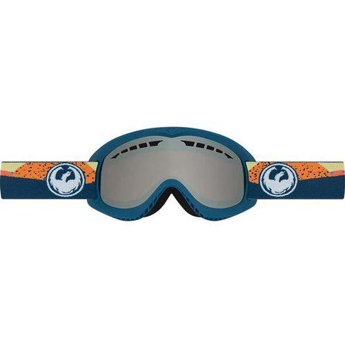 gogle snowboardowe DRAGON - DX - Kick Orange/Ionized (676) rozmiar: OS