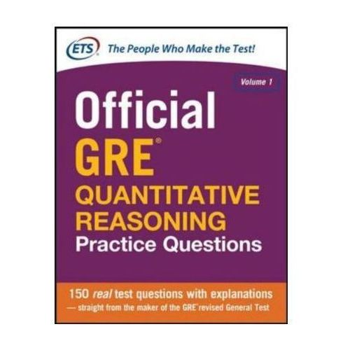 Official GRE Quantitative Reasoning Practice Questions (9780071834322)
