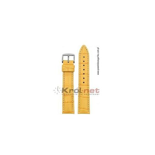Pasek Hirsch Modena 24 mm - żółty