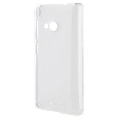 Etui iplate glossy do nokia lumia 535 przezroczysty + zamów z dostawą jutro! marki Xqisit