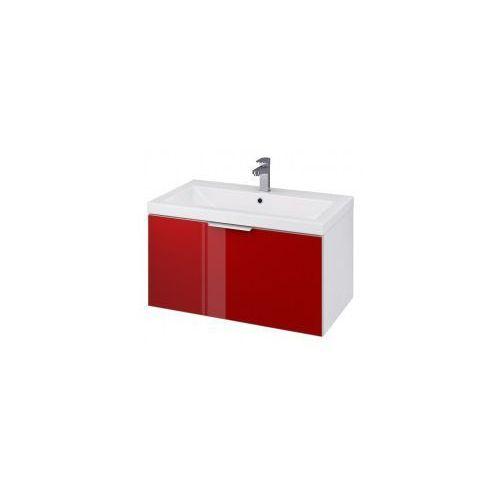 Cersanit stillo szafka podumywalkowa como/zuro/amao 80, biel + czerwień s575-011 (5902115712388)
