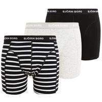Björn Borg STRIPE 3 PACK Panty black (7321464346064)