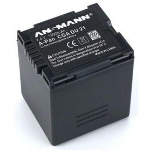 Akumulator ANSMANN do Panasonic A-Pan CGA DU 21 (1900 mAh) + DARMOWY TRANSPORT! (4013674022427)