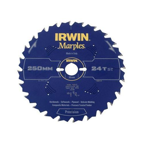 Irwin marples Tarcza do pilarki tarczowej 250 mm/24t/30 (5706918974741)