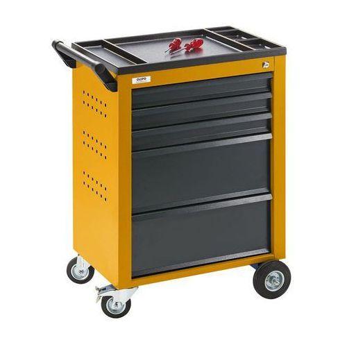 Wózek narzędziowy,5 szuflad z pojedynczą blokadą