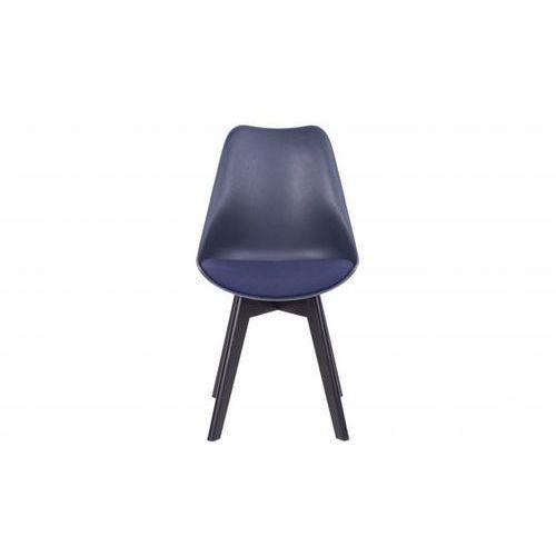 krzesło do jadalni set of 2 niebieskie 373611-b marki Woood