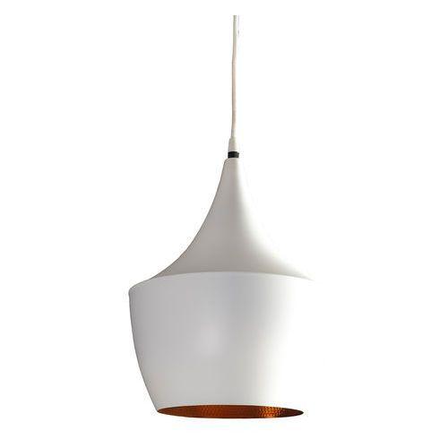 Azzardo orient az1341 lp6008 wh/go lampa wisząca zwis oprawa 1x60w e27 biała