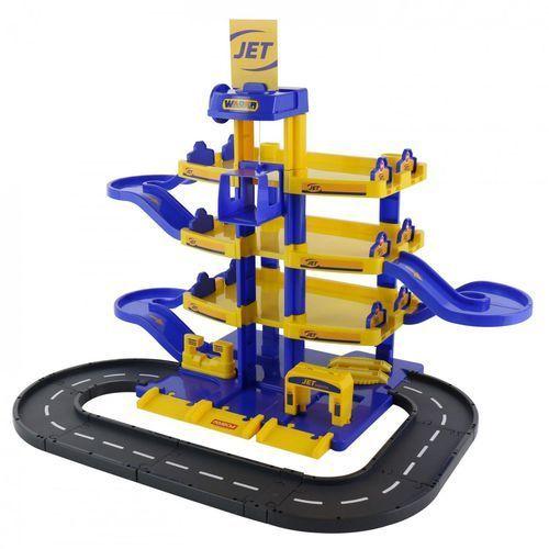 Wader quality toys Wader qt parking jet 4 poziomowy z drogą (pudełko)