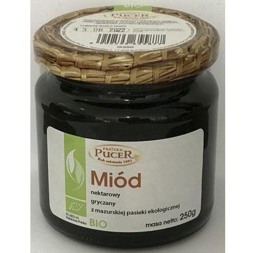 Miód nektarowo - gryczany 250g - ekologiczny marki Pucer