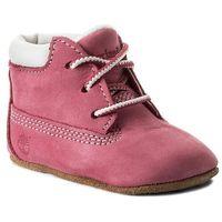 Trzewiki TIMBERLAND - Crib Bt W/Hat 9680R Pink/Pink