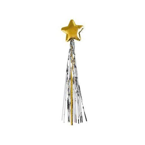 Różdżka magiczna złota gwiazdka - 1 szt. (5902557251391)