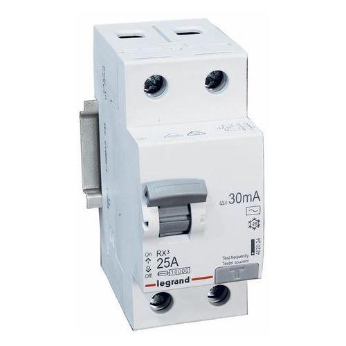 Legrand RX3 Wyłącznik różnicowoprądowy 2P 25A 30mA AC 402024 (3245064020244)