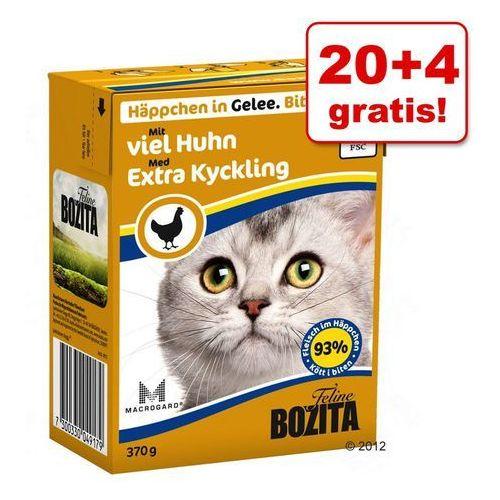 20 + 4 gratis! Bozita w galarecie / sosie, 24 x 370 g - W galarecie, Łosoś z małżami  -5% Rabat dla nowych klientów  DARMOWA Dostawa od 99 zł, KBOZ028_PAK12