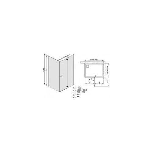Sanplast Free line 100 x 120 (600-260-0680-42-211)