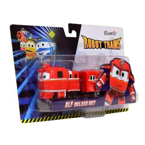 Robot Trains Pojazd z wagonem Alf Deluxe Set (4891813801801)