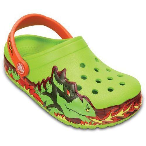 Crocs buty crocslights fire dragon clog k volt green 24-25 (c8)