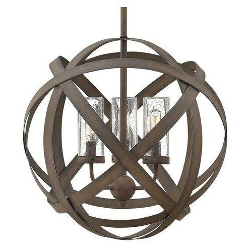 Elstead Lampa wisząca carson 3p hk/carson/3p - lighting - rabat w koszyku (5024005286615)