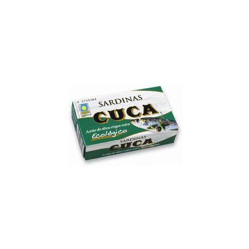 Cuca Sardynki w oliwie z oliwek bio 120g (8410698073842)