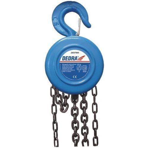 wciągarka łańcuchowa 2t ded7903 marki Dedra