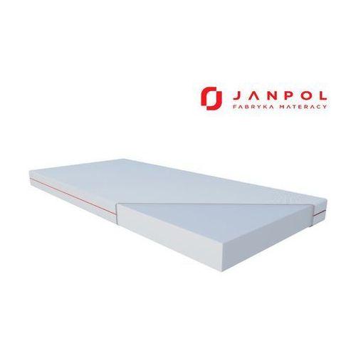 Janpol hermes – materac piankowy, rozmiar - 160x200, pokrowiec - smart najlepsza cena, darmowa dostawa