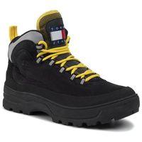 Kozaki - hilfiger expedition mens boot em0em00301 black 990, Tommy jeans, 44-45