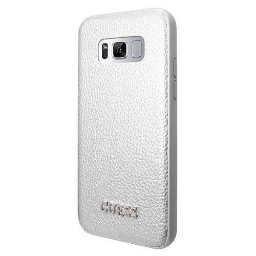 Guess GUHCS8IGLSI Samsung Galaxy S8 (srebrny) - produkt w magazynie - szybka wysyłka! (3700740400227)