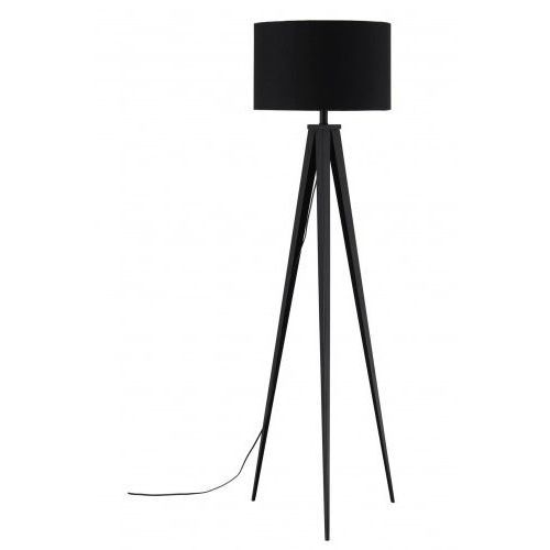 Frandsen lampa podłogowa brooklyn czarna - nogi czarne