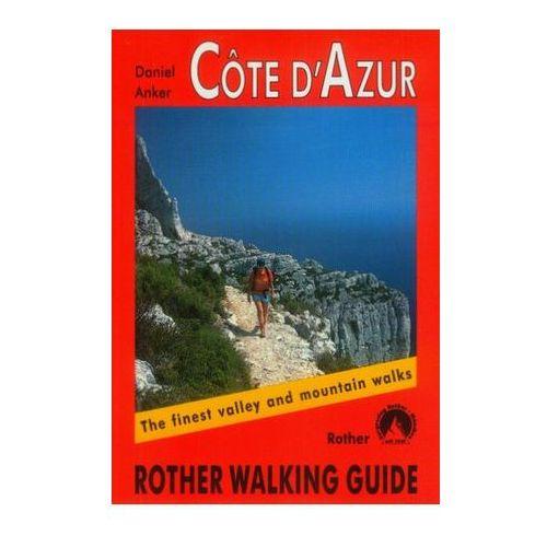 Lazurowe Wybrzeże Bergverlag Rother Cote D'Azur, oprawa miękka