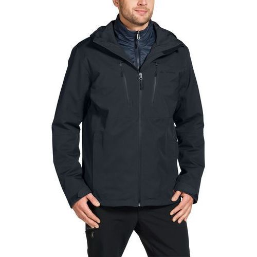miskanti kurtka mężczyźni czarny xl 2018 kurtki przeciwdeszczowe marki Vaude