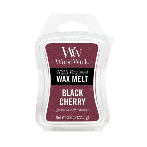 - wosk zapachowy black cherry 10h marki Woodwick