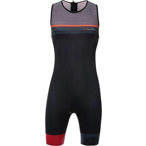 sleek plus 775 mężczyźni czerwony/czarny m 2018 pianki do pływania marki Santini