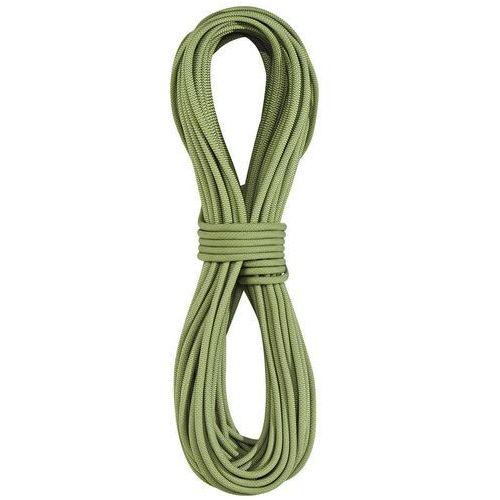Edelrid Skimmer Pro Dry Lina wspinaczkowa 7,1mm 50m zielony 2018 Liny połówkowe