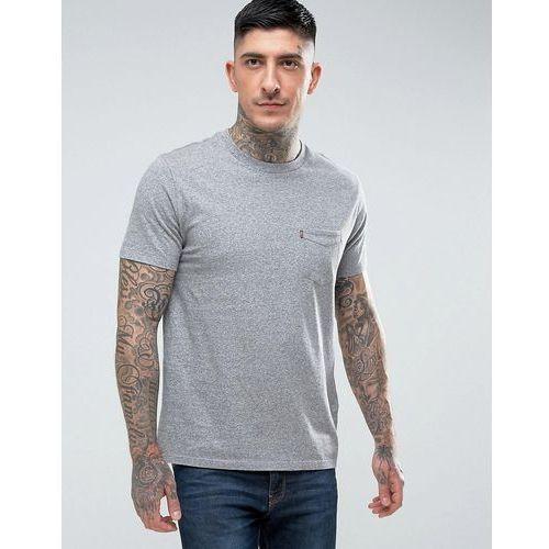Levi's sunset pocket t-shirt grey heather - Grey