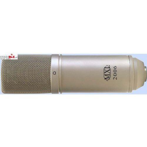Mxl 2006 - mikrofon pojemnościowy