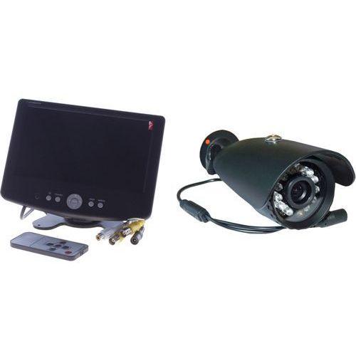 Xrplus Zestaw kamera sharp 600 linii monitor 7 cali