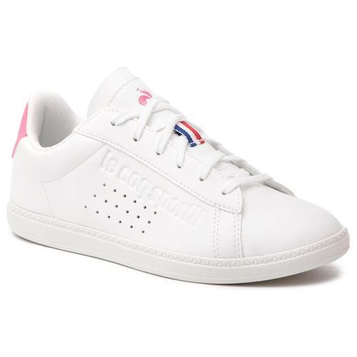 Le coq sportif Sneakersy - courtset gs sport 1910155 optical white/pink carnation
