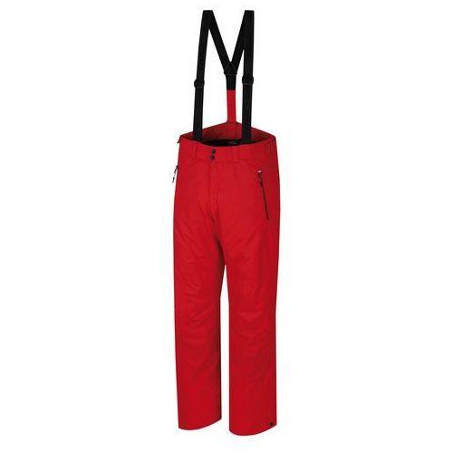 Hannah Męskie spodnie narciarskie Jago Racing Red M