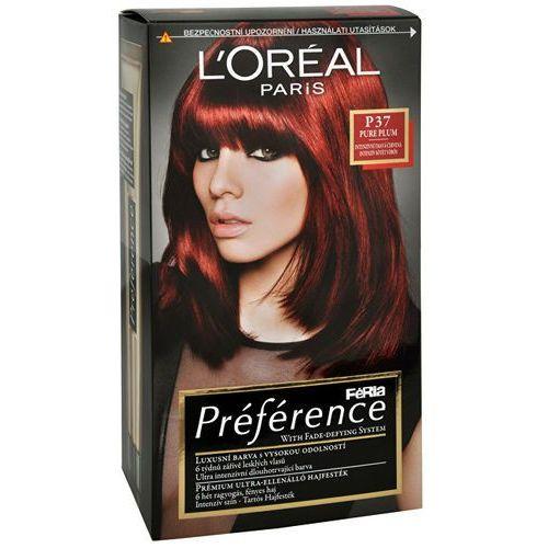 L´oreal paris préférence féria hair colour 1szt w farba do włosów p37 pure plum (3600521434703)