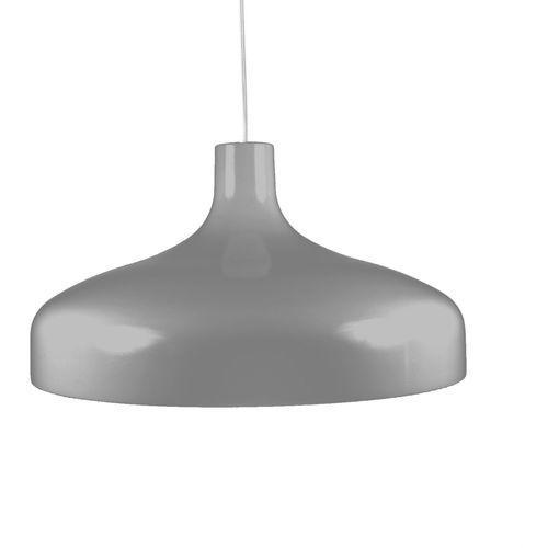 BRASILIA- Lampa wisząca Śr.42cm, kolor Szary