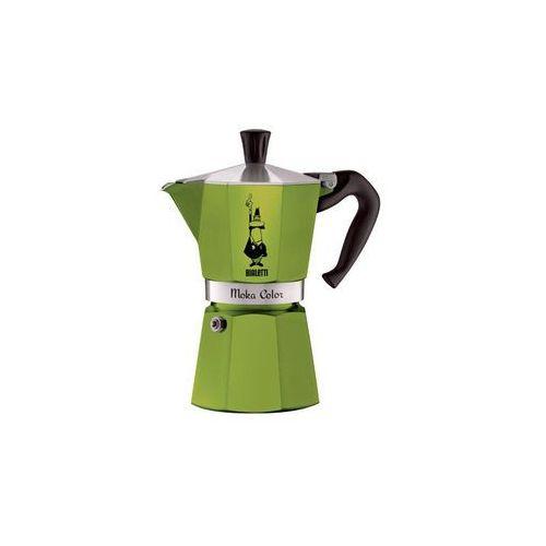 Bialetti moka color kawiarka 3 filiżanki 3 tz green marki Bialetti / kawiarki / mokka induction